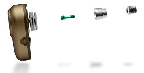 Parts of a BAHA